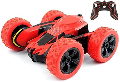 YIQIFEI 2.4GHz RC Car Off Road Remoto de Alta Velocidad Stunt RC Toy 360 & deg;Flip Coches de Carreras controlados por Radio con Giro y rotación (Coche Inteligente)