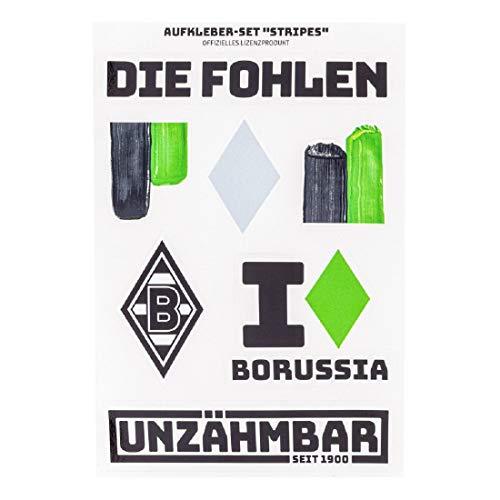 Borussia Mönchengladbach Aufkleber-Set Stripes