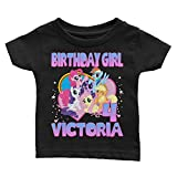 Family Personalize My Little Pony Birthday T-Shirts