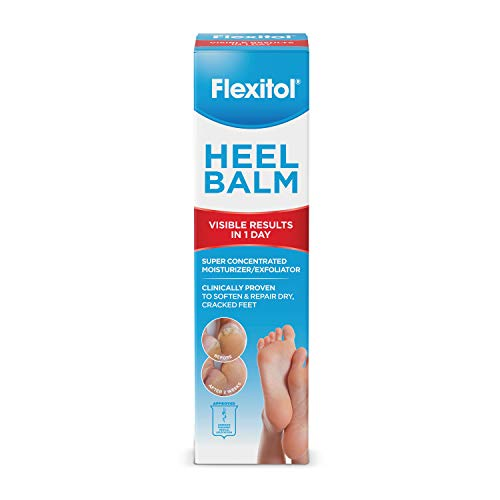 Flexitol Heel Balm Rich Moisturizing amp Exfoliating Foot Cream 4 Oz Tube