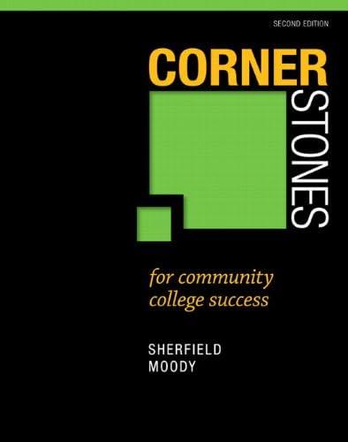 Cornerstones for Community College Success product image