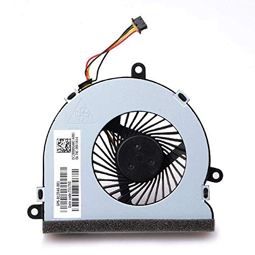 TB Replacement Cooling FAN For HP 15-AC 15-AC622TX 15-ac032no 15-ac033no 15-ac042ur 15-ac121dx 15-ac029ds 15-ac120nr 15-ac137cl 15-ac023 Series , Comes with One Year Warranty