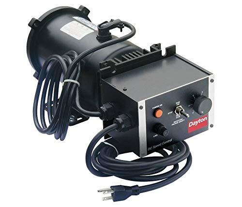 Dayton 1F800 Adjustable Speed Motor, Permanent Magnet DC, 1/2 hp