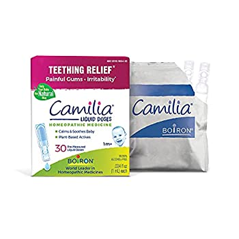 Boiron Camilia Doses Homeopathic Medicine for Teething Relief Natural - 30 Count
