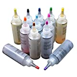 FADDARE 12 ColorsTie Dye Kit, One Step Tie Dye Kit, Permanent Tie Dye Shirt Stofffarbe für...