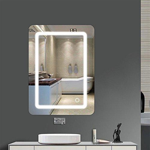 WeFun 500 * 700 * 40mm Badspiegel mit Beleuchtung,Badezimmerspiegel mit Beleuchtung,Badezimmerspiegel LED Touch