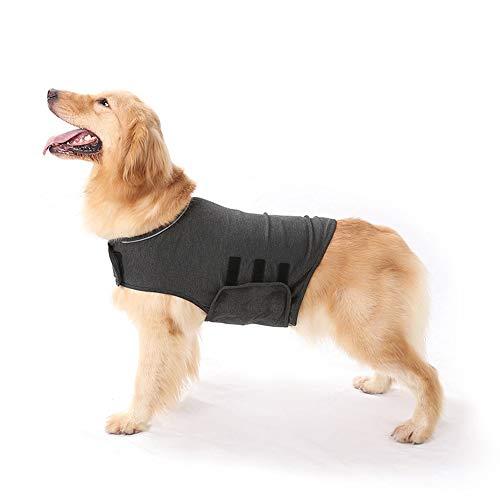 RayMinsino Protector de perro cachorro anti ansiedad y alivio del estrés chaqueta
