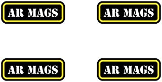 fagraphix (4X) AR Mags Ammo Can Sticker Set Decal Molon Labe mag ar15 Type 2 FA Vinyl