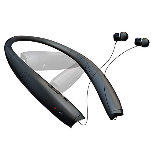 SGart Bluetooth Headphones, Foldable Wireless Neckband Headphones,...