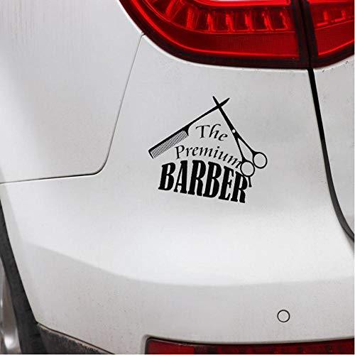 2 STUKS Kapper Gereedschap Kapsalon Vinyl Motorfiets Auto Sticker 15x13cm