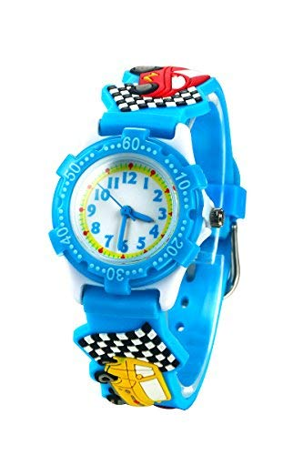 Reloj para Niños de Vinmori, Reloj de Cuarzo con Dibujos Animados Bonitos en 3D Resistente al Agua. Regalo para Chicos, Niños y Niñas