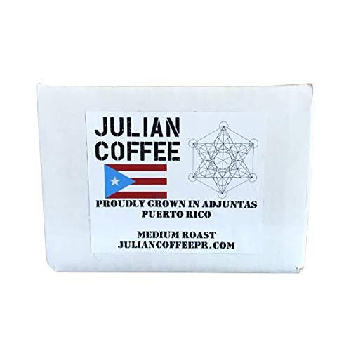 K-Cups, single serve coffee pods for Keurig, Puerto Rican Coffee, Organic, Single Origin, Shade grown, Specialty grade Julian Coffee