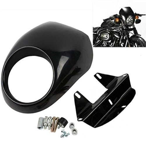 Price comparison product image Headlight Fairing Front Cowl Cafe Racer For Harley Sportster Dyna Glide FX XL