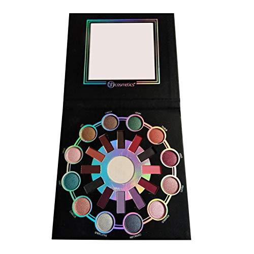 duhe189014 Matte Makeup Eyeshadow Palette Zodiac 24 Cuentas de Alto Brillo