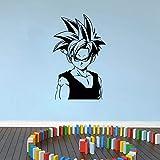 Tianpengyuanshuai Dragon Ball Gohan Pegatina de Anime para decoración de habitación de Coche/camión/Ordenador portátil/niños -21x12cm