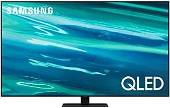 SAMSUNG 55-Inch Class QLED Q80A Series - 4K UHD Direct Full Array Quantum HDR 12x Smart TV with Alexa Built-in (QN55Q80AAFXZA, 2021 Model)