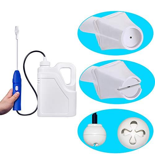 HOSUAI 2Lbackpack Sprayer Knapzak Handmatige Draagbare Pompspuit Met Sproeiers Voor Tuin En Gazon