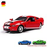 Nuevo 1964 Ford Mustang modelo de coleccionista rojo oscuro aproximadamente 1:43 productos nuevos de Bburago