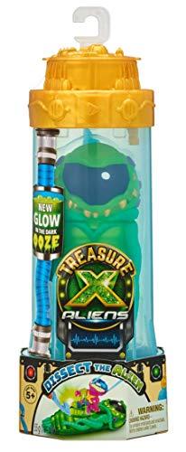 TRESOR X Aliens Substance visqueuse phosphorescente. Dissèque l'Alien pour trouver tes Figurines de Chasseurs extraterrestres et Un trésor à Collectionner.
