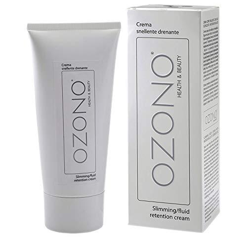 Ozono H&B - Crema corporal drenante profesional – Aceite ozonizado microencapsulado –...
