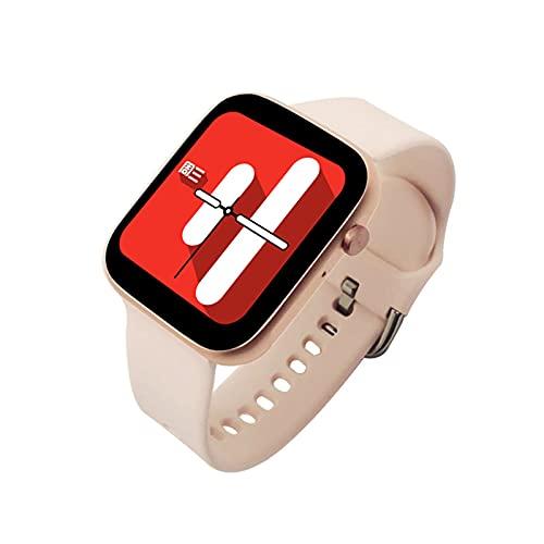 VBF Pulsera Inteligente, Moda, T3Pro Bluetooth Respuesta y Llamada, Multi-Deportes, Ritmo cardíaco, oxígeno de Sangre, Reloj Deportivo Impermeable para Android iOS,B