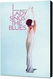 ArtFuzz Lady Sings The Blues 27 x 40 Movie Poster - Style E - Museum Wrapped Canvas