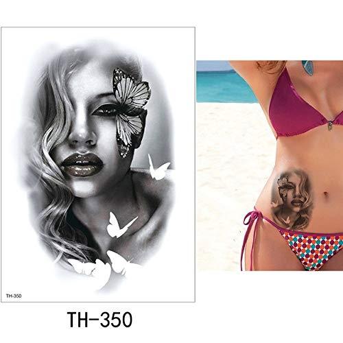 HXMAN 5 Pc Temporaneo Tatuaggio Adesivo Bella Falso Tatoo Donna Flash Tatuaggio Impermeabile Piccolo Corpo Arte Uomini Donne Th Link 05 TH-350