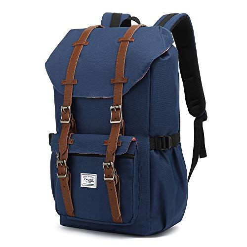 Rucksack groß Damen Herren Freizeitsrucksack im Retro Desigh Reiserucksack mit 15