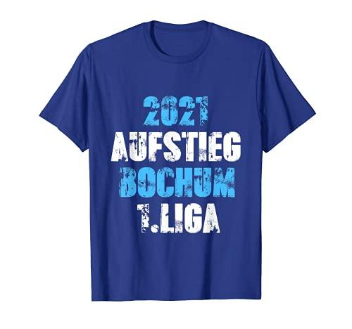 Herren Ruhrpott Bochum Fußball Trikot Aufstieg 2021 Bochum 1.Liga T-Shirt