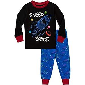 Ping Pop Pijamas para niños Necesito Espacio Ajuste Ceñido