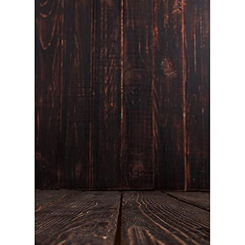 Tablón de Madera Accesorios de Fondo de fotografía Vintage Piso de Madera Fondo de Estudio fotográfico Fondo de fotografía de Vinilo Tela A11 9x6ft / 2.7x1.8m