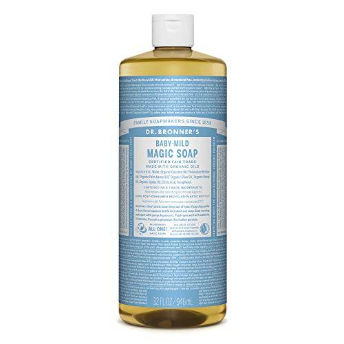 ドクターブロナーマジックソープBA(ベビーマイルド)無香料946mlオーガニックソープ