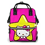 Star Hello Kitty - Bolsa para pañales, diseño de Hello Kitty