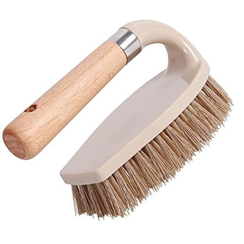 SouiWuzi Cepillo de Limpieza de Madera, Cepillo de Lavado de lavandería, Cepillo de Lavado de Zapatos Multifuncional, Pincel de Limpieza de lavandería