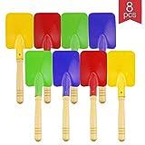 Best Beach Shovels - Faxco 8 Pieces 8'' Toy Shovels,Mini Shovel Kids Review
