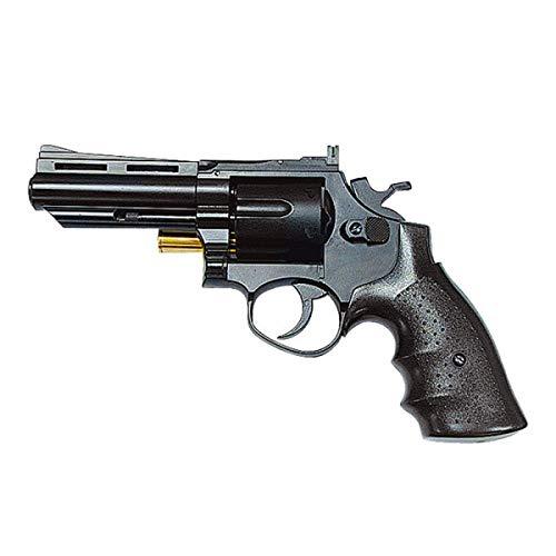 "H F C Softair 0,9 Joule Revolver 4"" Nero (HG 132B)"