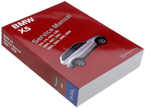 Bentley Paper Repair Manual BMW X5 (E53)