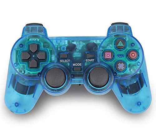 TPFOON Wireless PS2 Dual Vibration Controller...