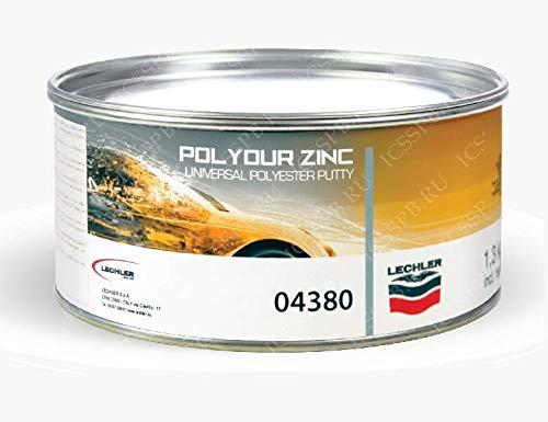 LECHLER Stucco Metallico per CARROZZERIA POLYDUR 04380 kg 1.3 con CATALIZZATORE