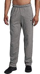 small Nike Therma Men's Training Pants (Gray, XL)
