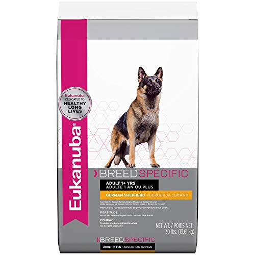 Eukanuba Breed Specific German Shepherd Dry Dog Food, 30 lb