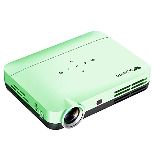 WiFi Projector WOWOTO WiFi Video Projector HD Home Theater Video Projector