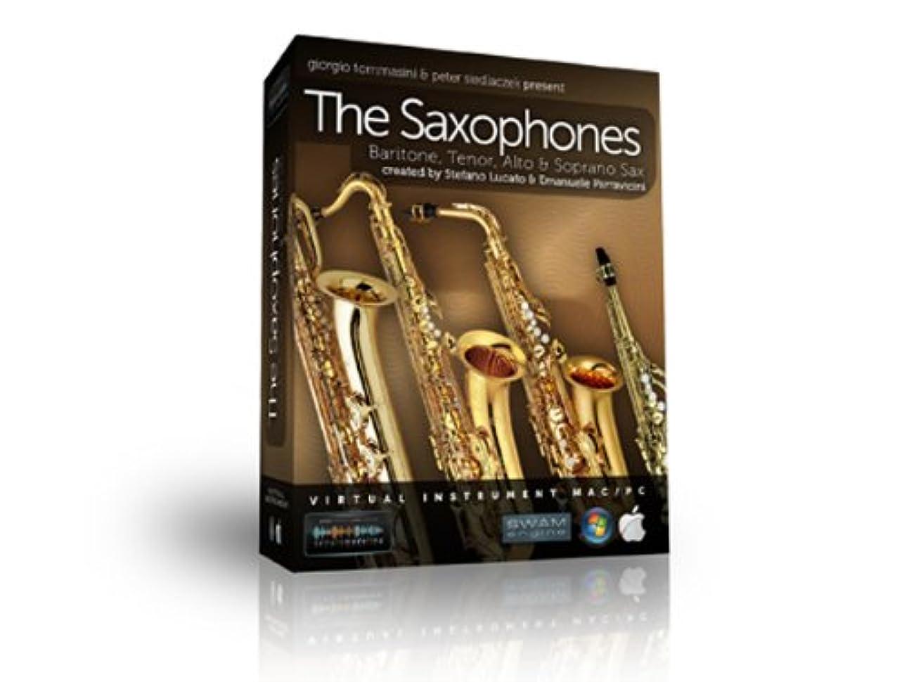 雷雨スペシャリスト錆びsample modeling サンプルモデリングプラグイン音源ソフト The Saxophones