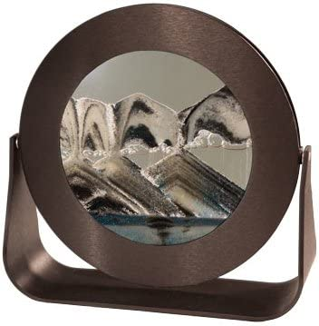 Exotic Sands - Unique Gift Rd34 Round Arctic Washington Mall Small Limited time sale Black Frame