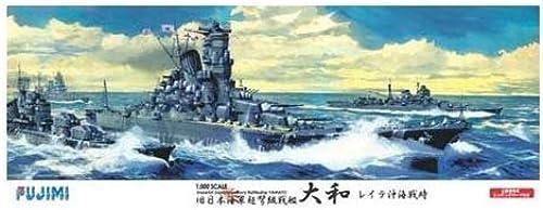 1 500 IJN Battleship Yamato (With Photo-Etched) (Plastic model)