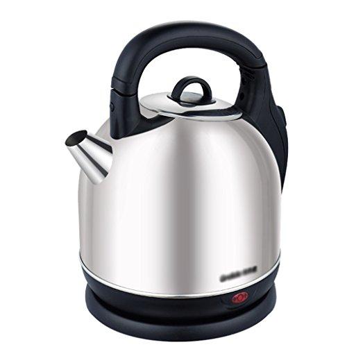 Bouilloire électrique 304 en acier inoxydable coupure automatique 3,6 litres grande théière électrique