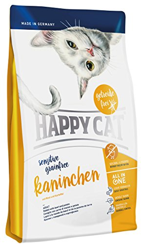 Happy Cat Grainfree Kaninchen, 1er Pack (1 x 1.4 kg)