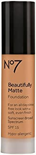 BOOTS No7 Beautifully Matte Foundation Deeply Beige