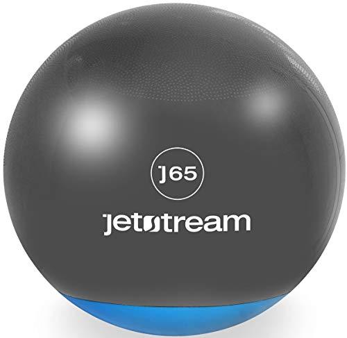 Jet Stream Pelota de Ejercicio 65 cm Diseño Exclusivo - ¡Hermoso empaque!