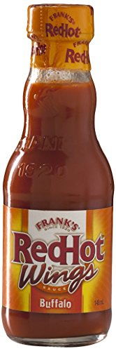 Frank's Red Hot Buffalo Wings Sauce, 1er Pack (1 x 148 ml)